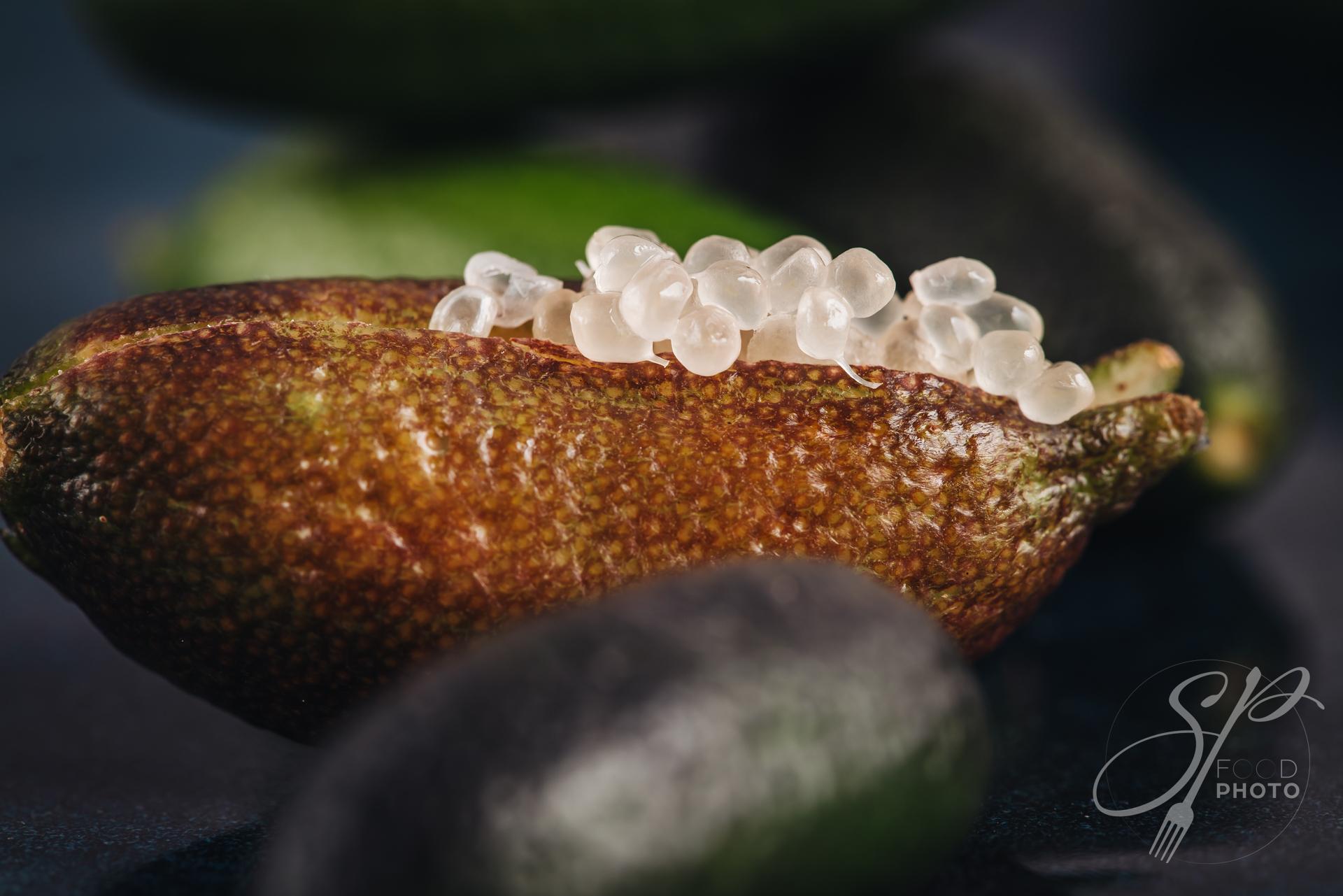 Bunch of fresh tasty finger limes fruits